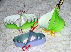 30 Easy Handmade Christmas Decorations, Paper Crafts for Green Holiday Decor