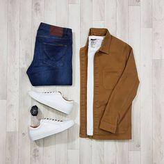 6,165 отметок «Нравится», 29 комментариев — Stylish Grid Game (@stylishgridgame) в Instagram: «Classic Autumn Colours in a Classic Overshirt Outfit in this Stylish Grid  Follow …»