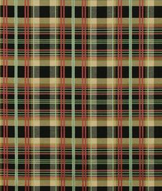 Amazon.com: Waverly Ballroom Plaid Onyx Fabric - by the Yard: Arts, Crafts & Sewing