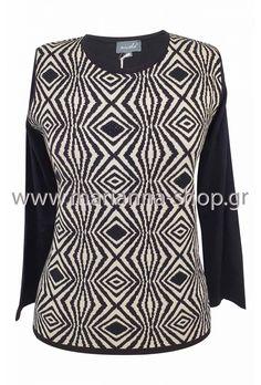 Μπλούζα ζακάρ Jumpers, Knitwear, Blouse, Sweaters, Shopping, Tops, Women, Fashion, Moda