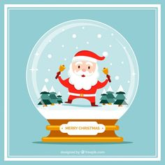 Christmas card with snowman with nice sa. Christmas Images Free, Merry Christmas Vector, Christmas Cards, Christmas Decorations, Vector Photo, Diy Organization, Winter, Vector Free, Snowman