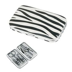 Colored Manicure Set - Zebra Stripe Nail Kit >>> A special outdoor item just for you. See it now! : Travel Makeup