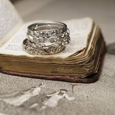 Showing our committment to having our marriage based on God..