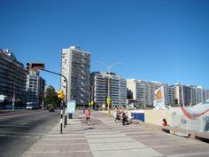Rambla de la Playa Pocitos - Montevideo, Uruguay.