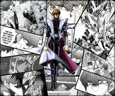 Some of my favorite pannels with Seto Kaiba.