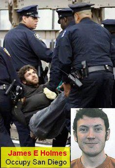 ABC said the shooter was Tea Party.          Here's the Colorado shooter, being dragged away at one of the many George Soros/Obama administration sanctioned Occupy events in America.