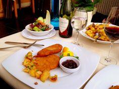 Traditional German Wiener Schnitzel