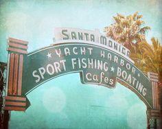 Santa Monica Californie And Océan On Pinterest