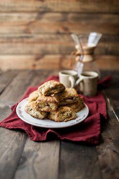 apple-pecan whole wheat scones