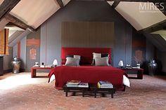 Chambre moderne et tomettes. C0535 | Mires Paris