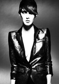 Hair: Akin Konizi @ HOB Salons Photography: Jenny Hands  Styling: Damian Foxe  Makeup: Natsumi Watanabe