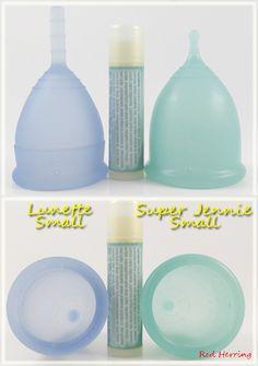 Lunette Small vs Super Jennie Small  #menstrualcup #periodpositive #Lunette #SuperJennie #mycupsonfleek #rumps #menstruationmatters