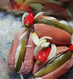 Dobrá kuchyně   Dobré recepty na každý den Hot Dogs, Sausage, Meat, Ethnic Recipes, Food, Sausages, Essen, Meals, Yemek