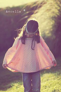 Tunique ASCELLA, Grains de Couture pour Enfants