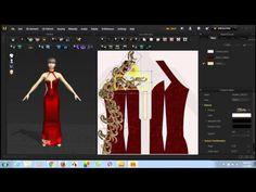 Dựng phối ren cho váy dự tiệc trên phần mềm 3D