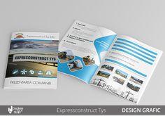 Design Grafic Publicitar #prezentare companie #brosura de prezentare #concept grafic Design