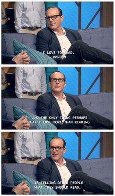 Knew we loved Clark Gregg for a reason...