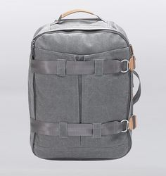 Qwstion 3 Day Travel Bag - Washed Grey