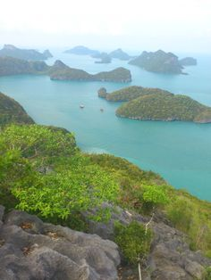 magnificent view from the highest point in #AngThong Nat. Park