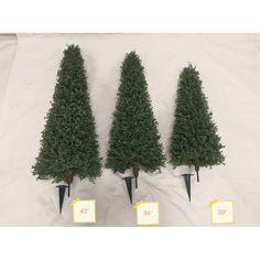 Canora Grey Artificial Boxwood Topiary & Reviews   Wayfair