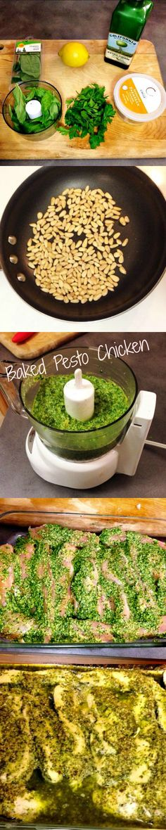 Looking for healthy meal options? Want to lower your carb intake? How about something to prep for lunches all week? Baked Pesto Chicken Recipe - Weve Tried It