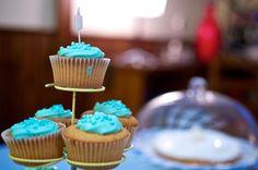 Edo's first birthday cupcakes
