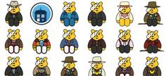 Doctor Who Pudsey Bears Collection Children In Need, Doctor Who, Bears, Comics, Tv, Collection, Doctor Who Baby, Television Set, Cartoons