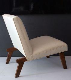 Clara Porset Attributed; Lounge Chair, 1950s.