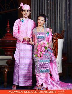 Zay Ye Htet and Shwe Mhone Yati Couple Photoshoot , Wedding Studio Photoshoot