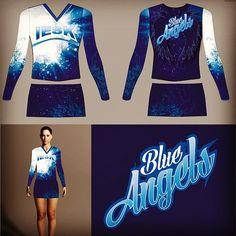 Blue Angels, Cheer, Custom Design, Crop Tops, Women, Fashion, Moda, Humor, Fashion Styles