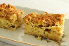 Mission: Food: Armenian Baked Macaroni and Cheese (Poohree Macaron)
