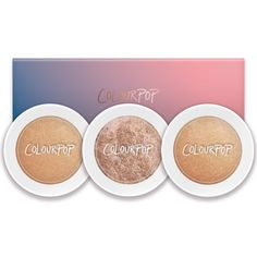 Cannoli highligters- colourpop