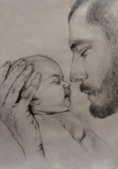 Sketch Drawing Of Dad - My Recent Drawings On Behance Pencil Art Drawings Dad Drawing Love Never Dies Unendinglove Father Daughter Dad Drawing Royalty Free Dad Son Sketch Sto. Dad Drawing, Girl Drawing Sketches, Portrait Sketches, Art Drawings Sketches Simple, Abstract Pencil Drawings, Realistic Pencil Drawings, Dark Art Drawings, Baby Sketch, Drawing People
