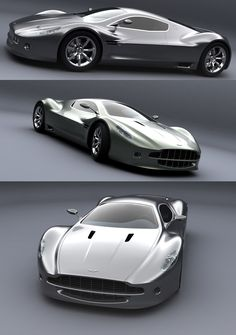 Aston Martin AM V10 concept car