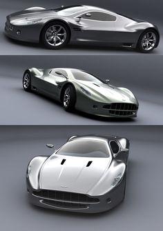 Aston Martin AM V10 concept car