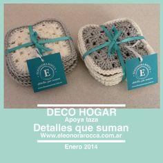 Posa tazas, hecho a mano                     Www.eleonorarocca.com.ar                   Hola@eleonorarocca.com.ar