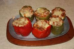 Venison Stuffed Peppers- these are easy to make, and are a heart-healthy dish for the family. Read how to make them here. - My WordPress Website How To Cook Venison, Venison Meat, Venison Recipes, Hamburger Recipes, Sausage Recipes, Deer Recipes, Game Recipes, Healthy Dishes, Game