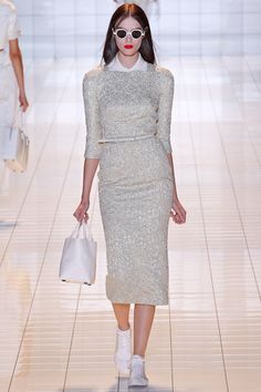 Rochas Spring 2013 Ready-to-Wear Collection Slideshow on Style.com