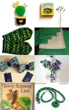 Which kind of green  by Nathalie on Etsy--Pinned with TreasuryPin.com