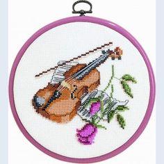 violin cross stitch - Google Search