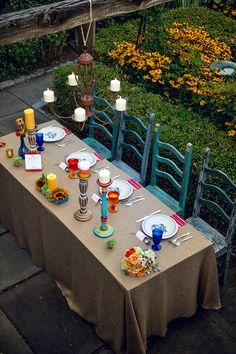 wedding reception table #receptiontable @weddingchicks