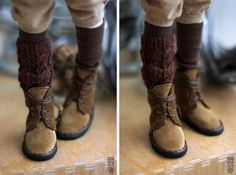 Doll boots by Nymphodisiac #bjd #shoes #boots #minifee