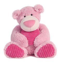 "Aurora Strawberry Latte Bear 15"""