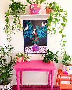 New Stylish Bohemian Home Decor Ideas Room Ideas Bedroom, Bedroom Decor, Wall Decor, Colourful Living Room, Deco Boheme, Aesthetic Rooms, Home And Deco, New Room, House Colors