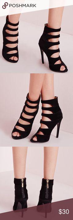 """✨Coming Soon✨ Missguided Heels  Missguided  Black 4"""" heel ..  Cute !!  Missguided Shoes Heels"""