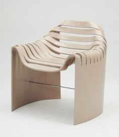 Home Rejuvenation (by KNQ Associates): MOLDED PLYWOOD CHAIR BY NARUSE INOKUMA ARCHITECTS