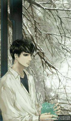 来说说跟盗墓有关的_看图_盗墓笔记吧_百度贴吧 Manga Boy, Manga Anime, Anime Art, Anime Male Face, Cartoon Man, Human Art, Boy Art, Beautiful Drawings, Chinese Art