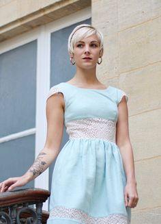 Aurore a testé le concept de robes personnalisables chez Ma robe et moi en créant sa robe Victorine unique et sur-mesure