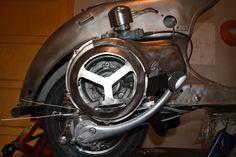 Vespa GS150 engine built.