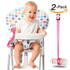 Sippy Cup Leash: Heaven's Bliss Baby Bottle Holder Stop Drop (Pink 2-Pack)...